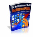 The Most Effective And Useful Blog Widgets And Plugins ...