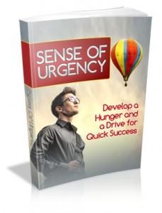 Sense Of Urgency Mrr Ebook