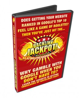 Backlink Jackpot Personal Use Video