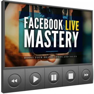 Facebook Live Mastery MRR Video With Audio