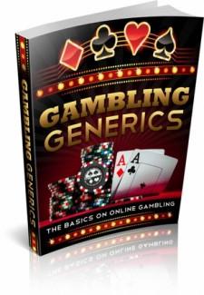 Gambling Generics MRR Ebook