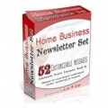 Home Business Ecourse PLR Autoresponder Messages