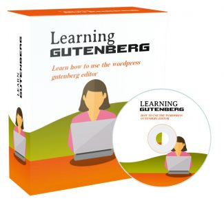Learning Gutenberg PLR Video With Audio