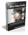 Micro Video Profits PLR Autoresponder Messages