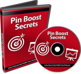 Pin Boost Secrets PLR Video With Audio