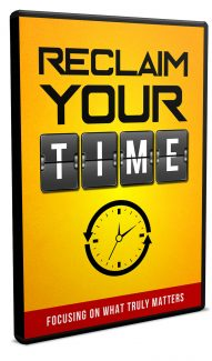 Reclaim Your Time Video Upgrade MRR Video With Audio